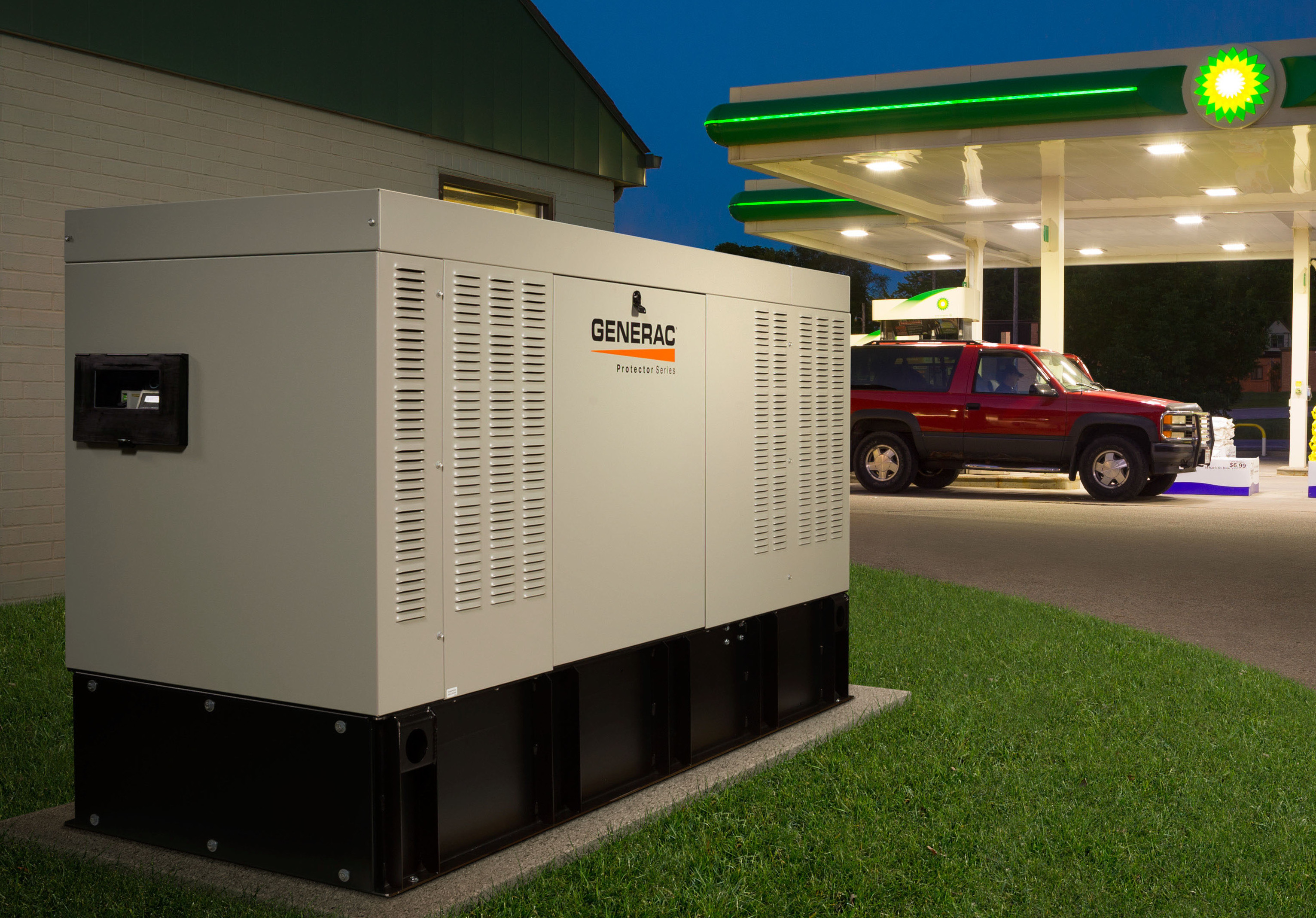 Protect your business from a power outage with Generac generators