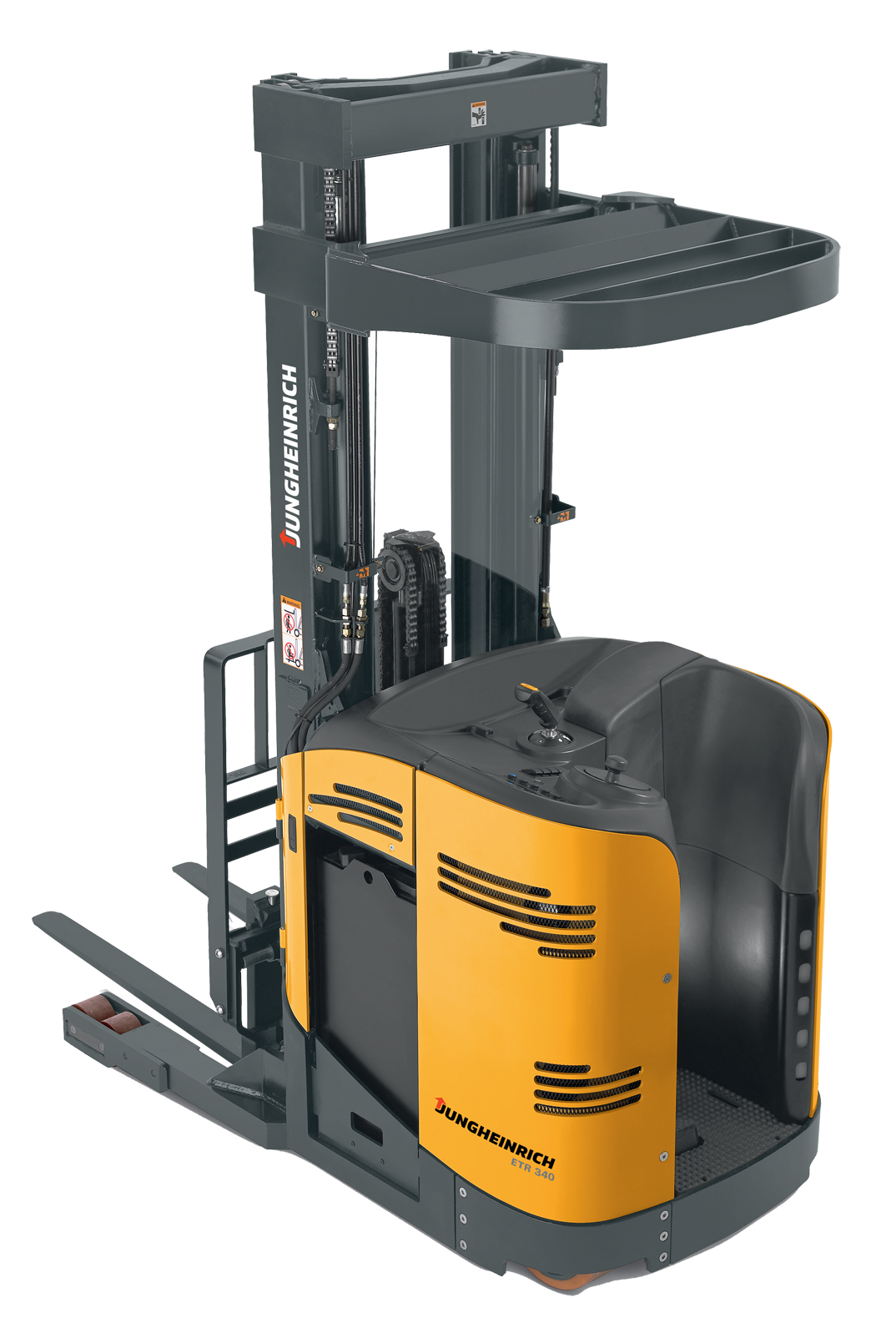 Narrow Aisle Forklift : Benefits of switching to reach trucks vs four wheel sit