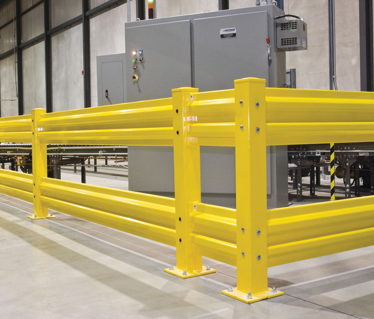 Warehouse safety products guardrail wolter group llc