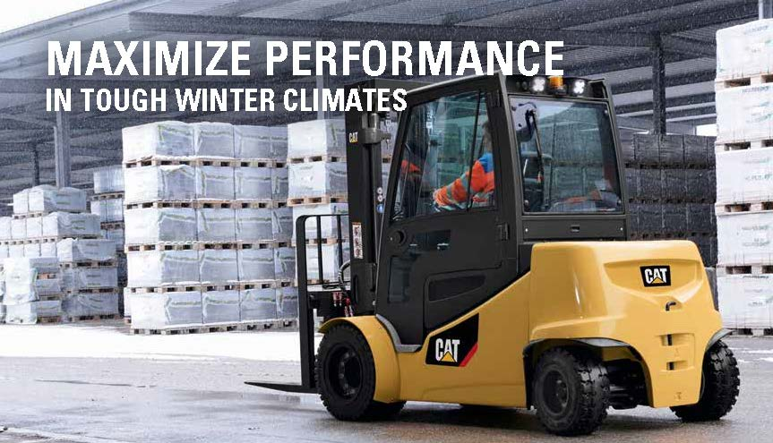 Forklift Winterization Tips